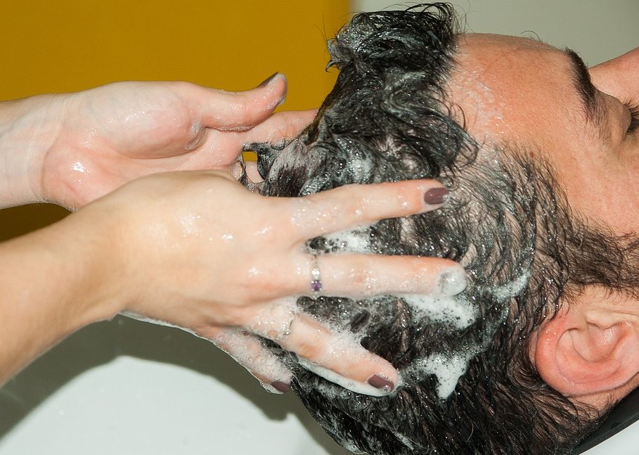 hair follicle cleaning shampoo